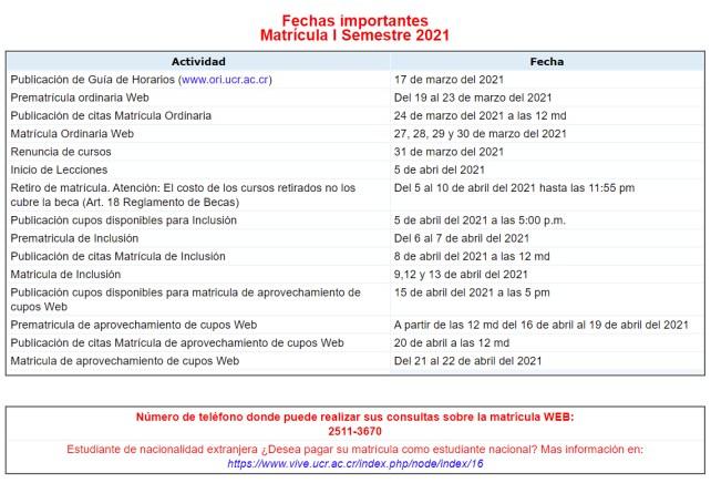 fechasimportantesmatriculai2021