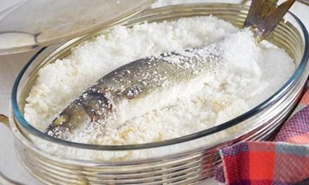 Branzino al sale