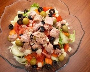 insalata con le olive