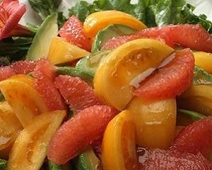 insalata con pompelmo