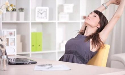 Perdere peso lavorando in ufficio. Esercizi