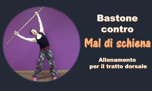 Bastone contro il mal di schiena: video allenamento per il tratto darsale.