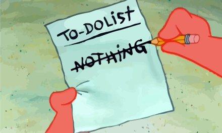 Esercizio di time management «Lista delle cose in sospeso»