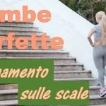 Breve allenamento sulle scale per avere Gambe Perfette