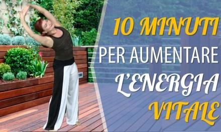 10 minuti per aumentare l'energia vitale. Ginnastica mattutina
