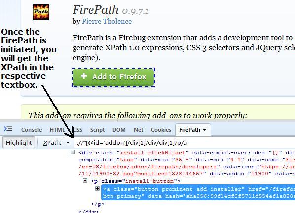 Using XPath in Web Application Testing Selenium