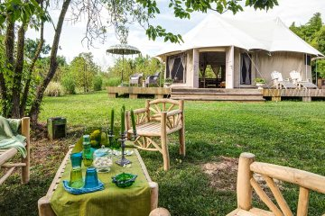 Glamping in Italy
