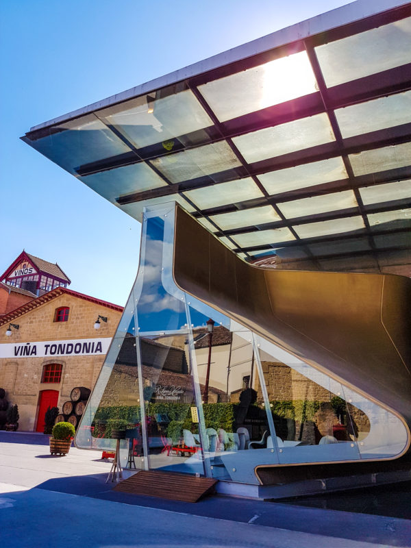 Tondonia Winery - Zaha Hadid Pavilion
