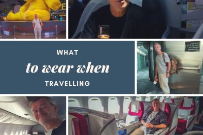 What to wear when travelling