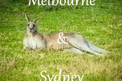 Melbourne and Sydney