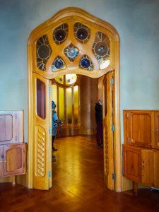 Interior casa batllo
