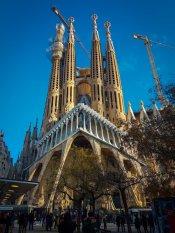Passion Facade Sagrada Familia