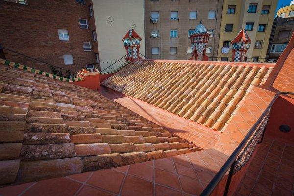Casa Vicens roof top 1