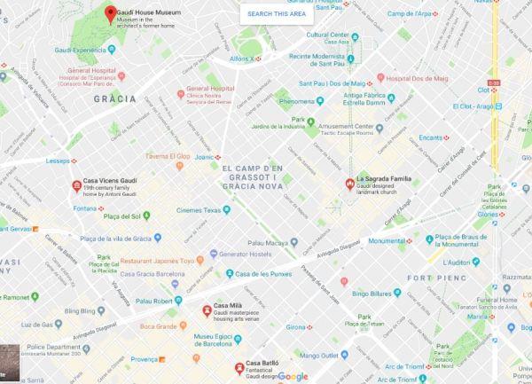 Gaudi Trail – Top 5 Must See