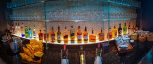 BA First Lounge drinks