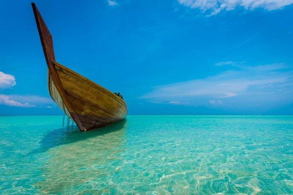 Snorkelling at abang islan indonesia