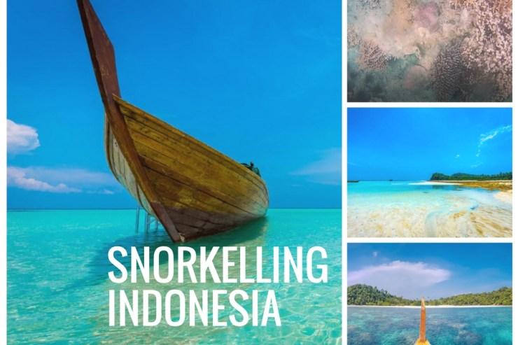 Snorkelling at Abang Island