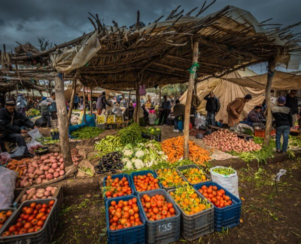berber market The Atlas Mountains Trip