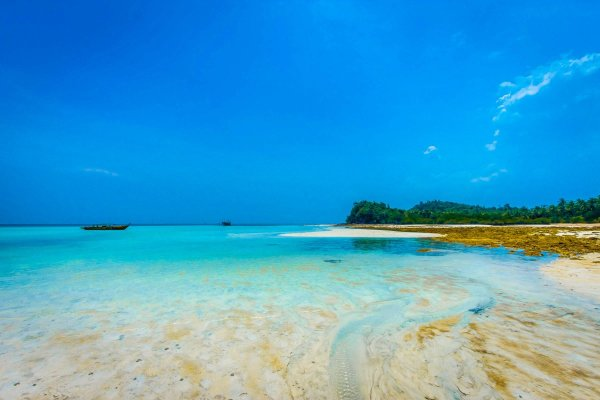 deserted tropical island indonesia