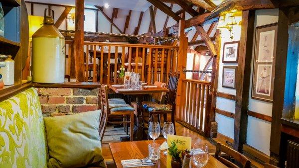Gomshall Mill Pub Interior