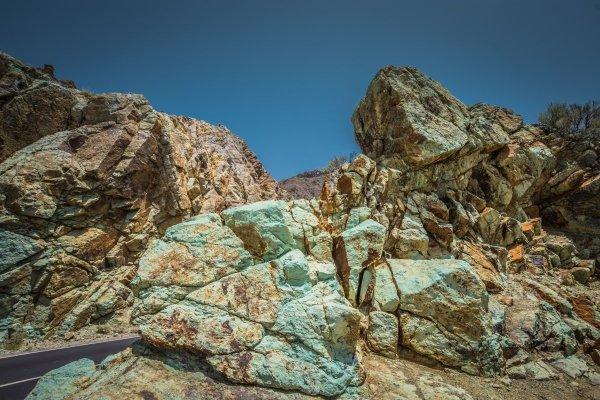 Colourful Rocks Mount Teide Tenerife