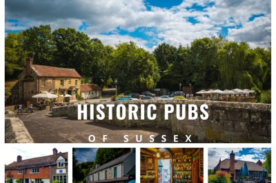 hitoric pubs of sussex