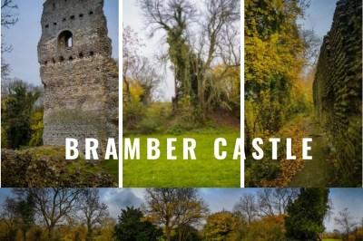 Bramber Castle Ruins