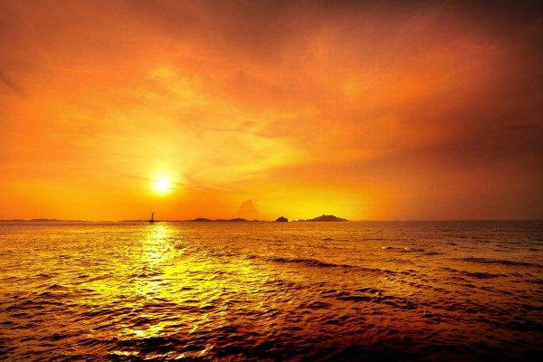 Sunset at KTM resort