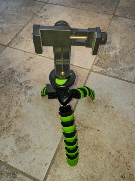 Little tripod - Mobile Photography with a Samsung S9 +