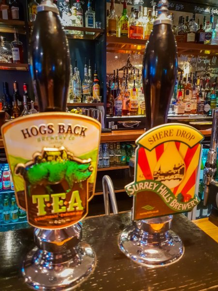 The Grantley Arms Wonersh local ales
