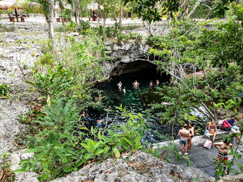 Launch Area- Gran cenote Tulum