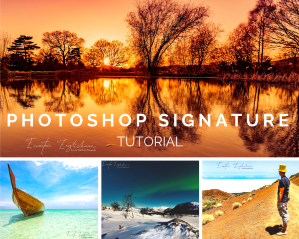 Photoshop Signature Tutorial