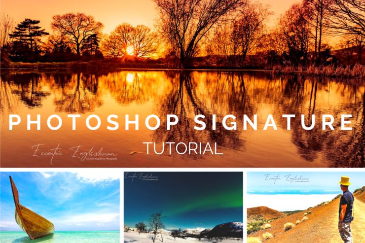 Photoshop Signature Tutorial