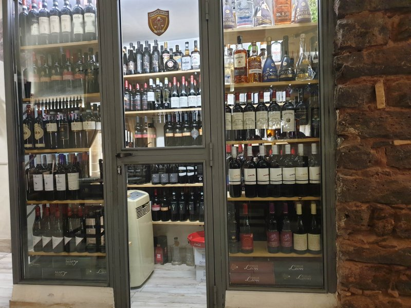 Steak House Catania Wine cellar