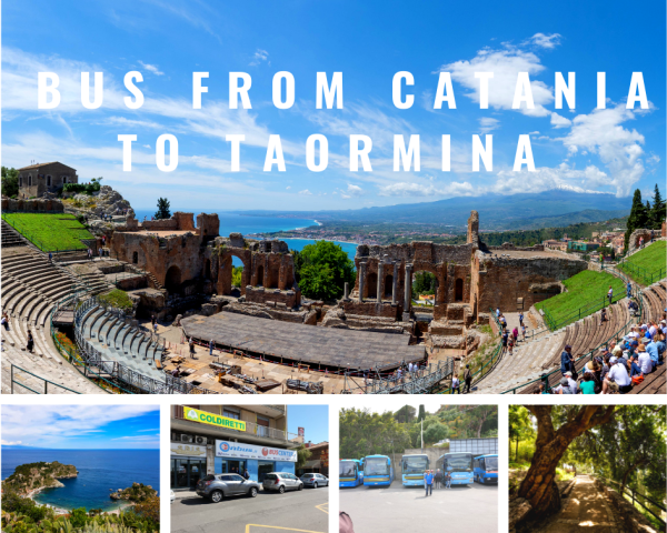 Bus from Catania to Taormina