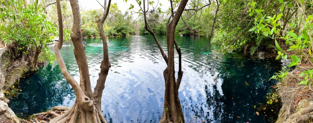 Car Wash Cenote Panorama