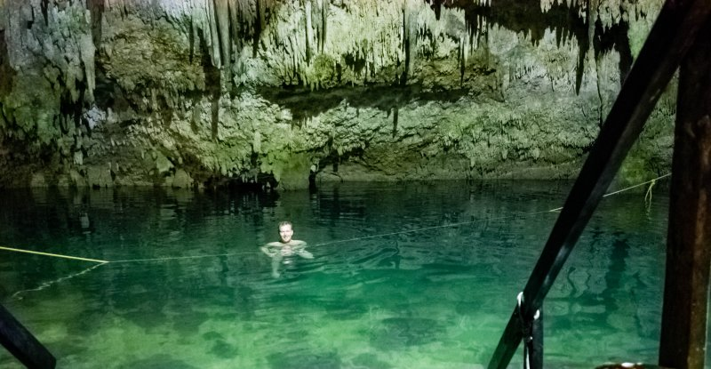 Cenote Choo-Ha -The Eccentric Englishman