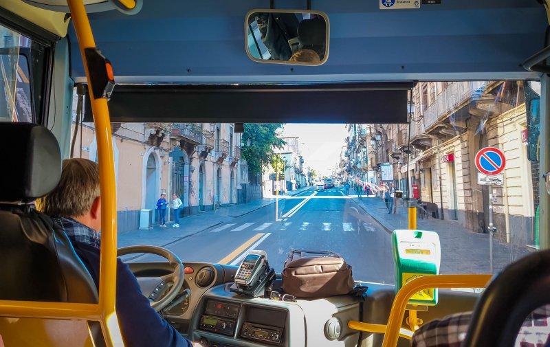 Bus - Visit to Mount Etna