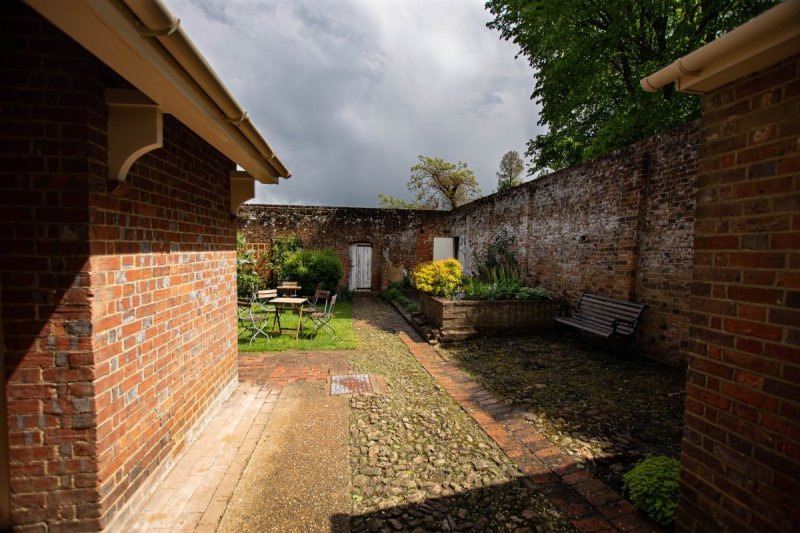 Courtyard - Leith Hill Place