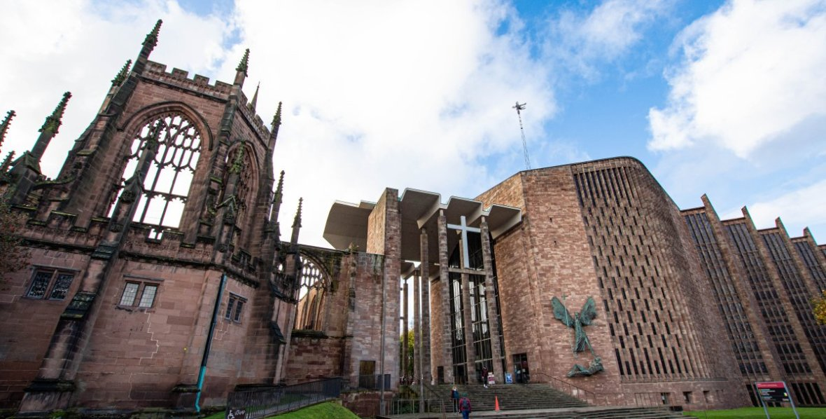 Coventry Cathedral Old and New
