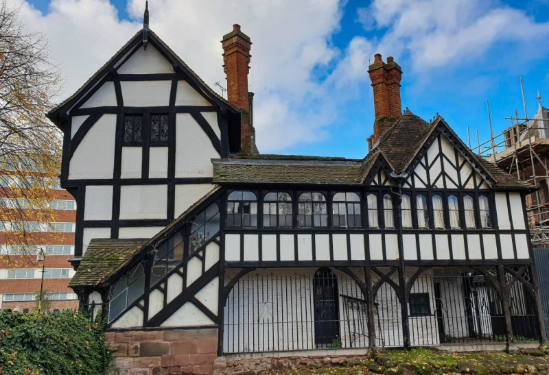 Lychgate cottages coventry Rear