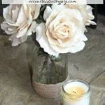 Lavender and vanilla natural soy candles