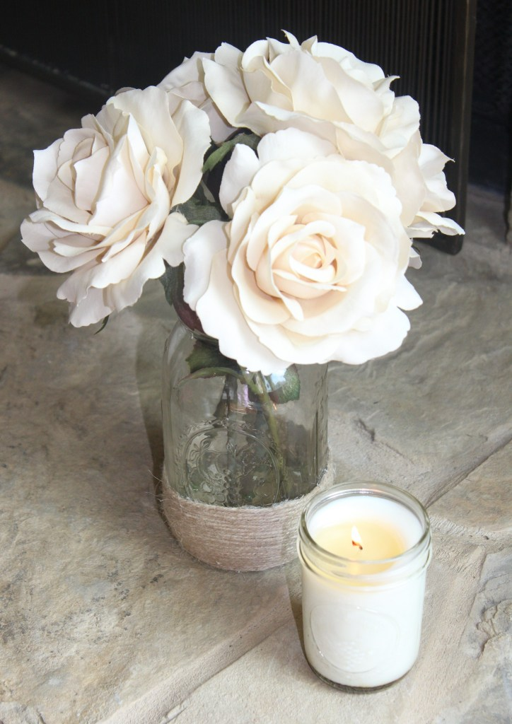 easy homemade soy candle in lavender and vanilla how to