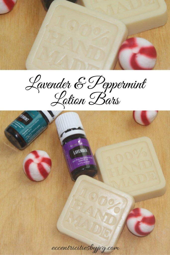 DIY lavender and peppermint lotion bars
