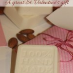 DIY cedarwood and almond soap – St. Valentine's gifts