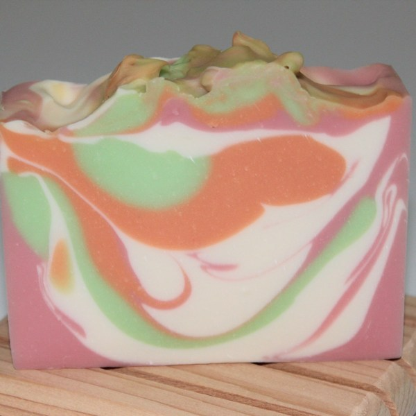 Pink Berry Mimosa Cold Process Soap