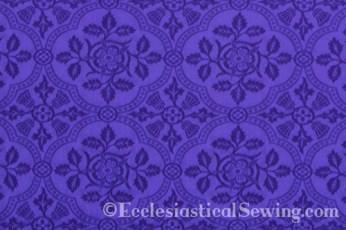 Cloister Liturgical Fabric-Violet