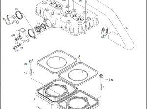 Rotax 582 Engine Parts & Decoke Gaskets Sets