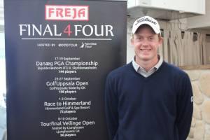 Richard Pettersson (billedet), halede kraftigt ind på Nicolai Tinning efter sejr i GolfUppsala Open.