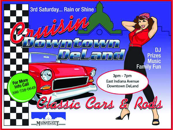 pin up girl beside classic car